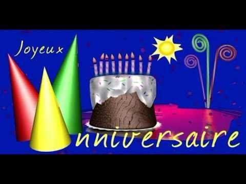 (4) JOYEUX ANNIVERSAIRE - HAPPY BIRTHDAY - YouTube