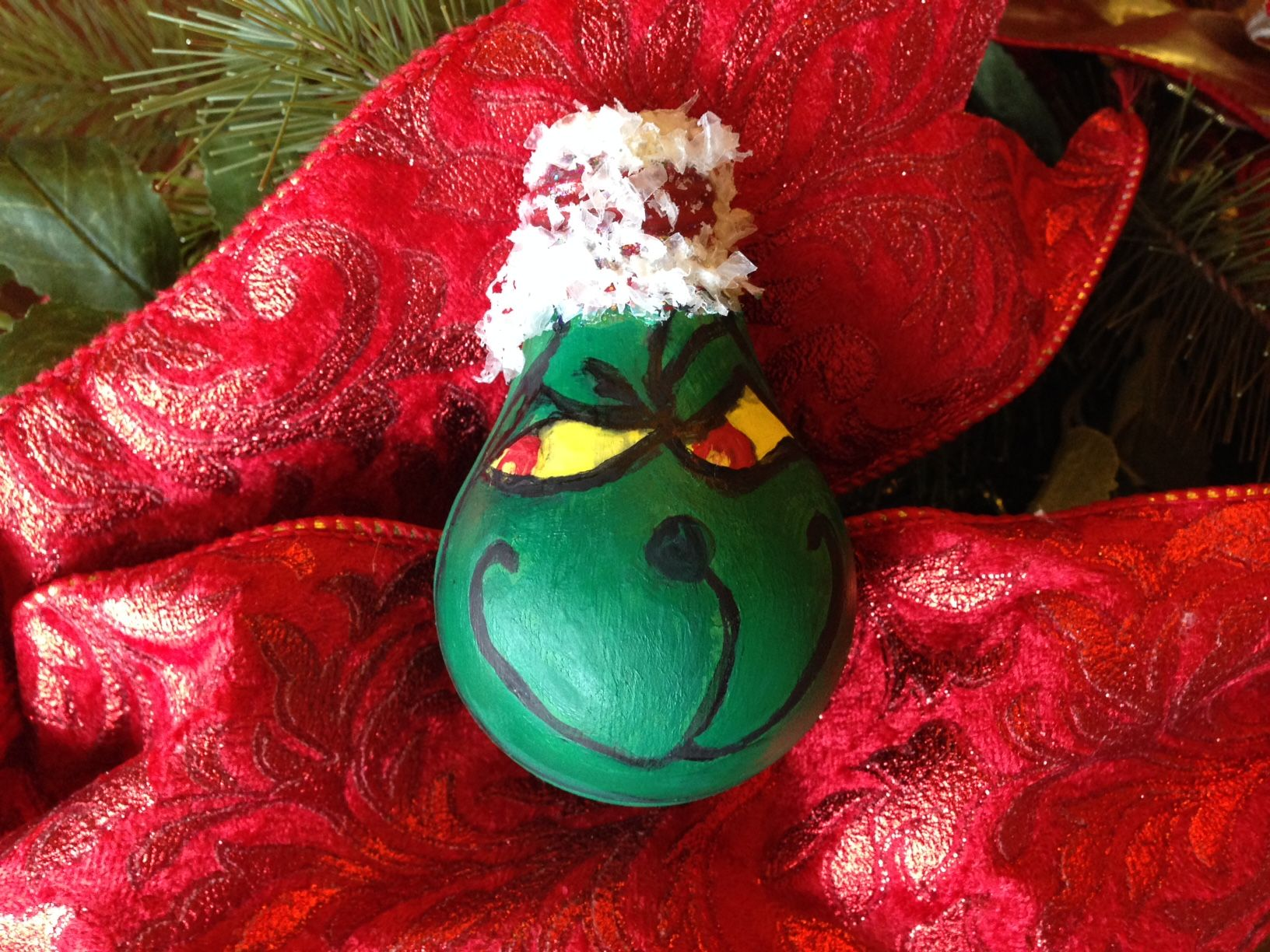 7 Days of Ornaments Day 7 Show your Grinch some Christmas spirit