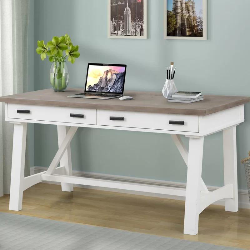 Gracie Oaks Jolien Desk Wayfair In 2020 Office Desk For Sale White Writing Desk White Wood Desk
