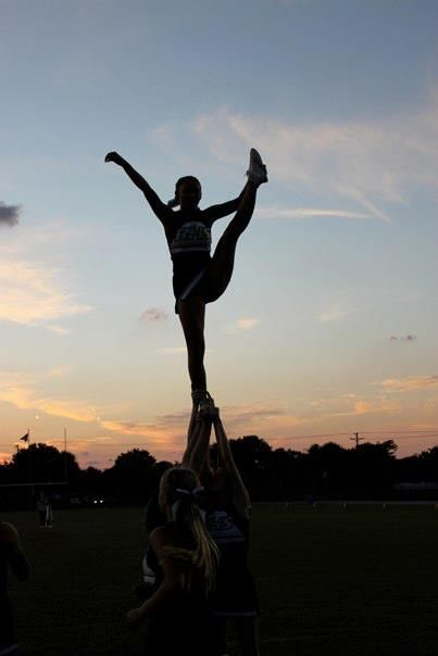 My love for cheerleading will never go away<3