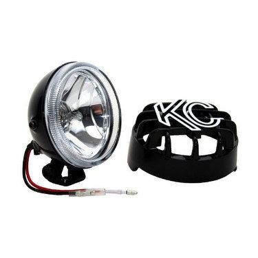 KC HiLiTES 1490 Rally 400 4 55w Single Driving Light with A ... on