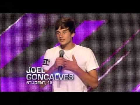 Joel Goncalves Auditions The X Factor Australia 2012 3 This Boy Is Really Good I Ve Listened Singing Competitions Seven Network Michael Jackson Youtube