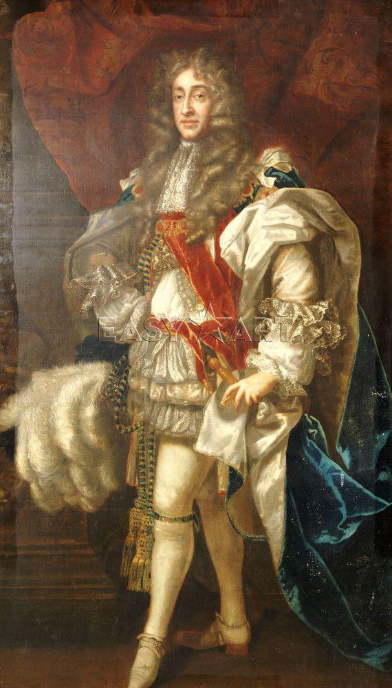 King James III of Scotland | King James II Of England (1633-1701 ...