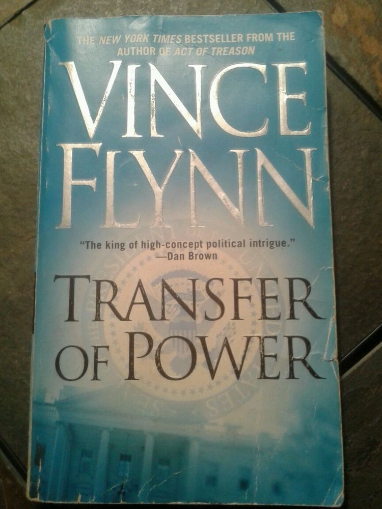 Transfer Of Power No 3 By Vince Flynn 2000 Paperback Reprint Vince Flynn Book Sale Power