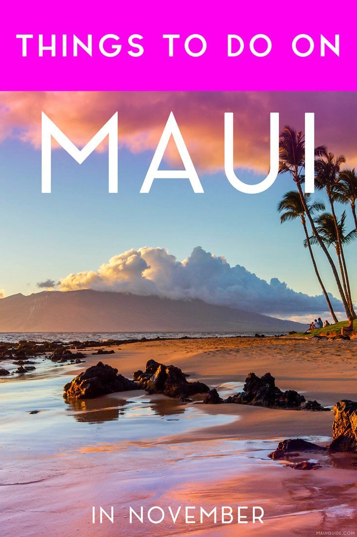 Things To Do On Maui In November Best Island Vacation