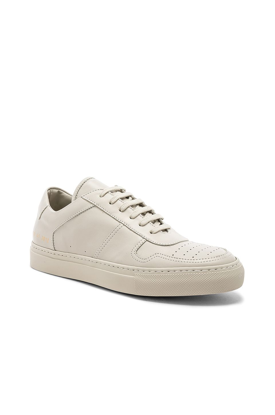 036aa8ded125 COMMON PROJECTS LEATHER BBALL LOW.  commonprojects  shoes