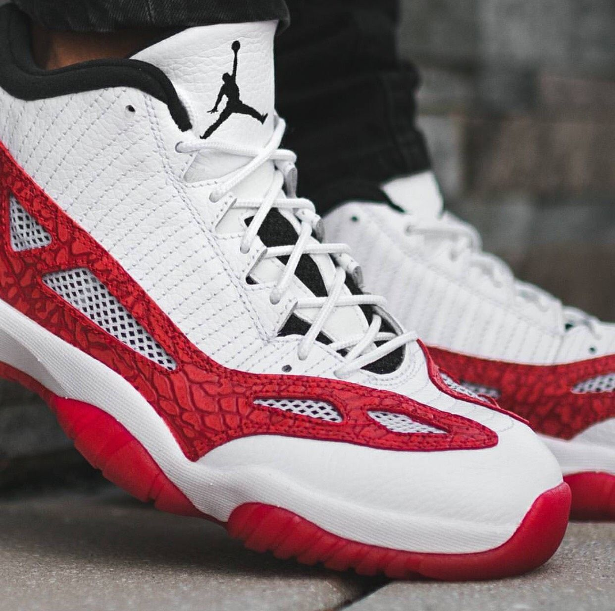 Pick Up The Air Jordan 11 Low Ie Gym Red Now With Images Air
