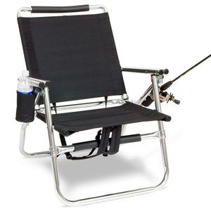 Folding Chair Fishing Pole Holder Office Replacement Wheels Backpack With Cup And Rod Ssoutdoorequipment Com