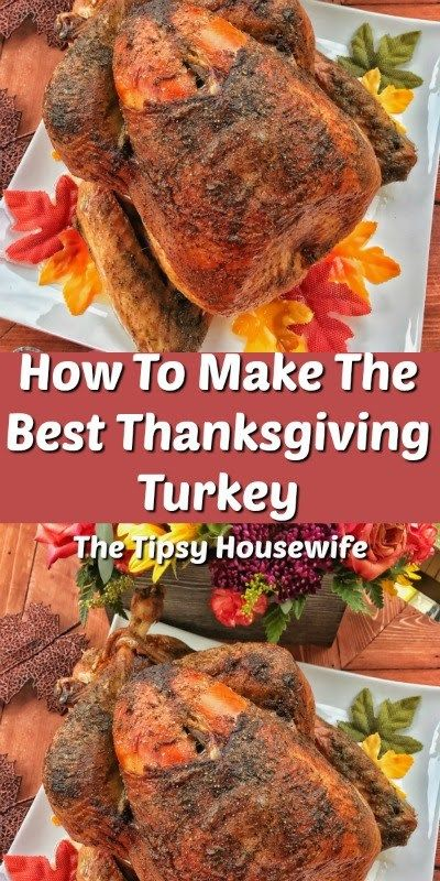 Photo of Thanksgiving Turkey – The Tipsy Housewife