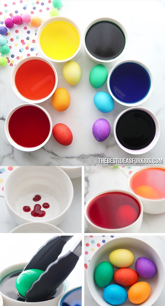Photo of Dying Easter Eggs