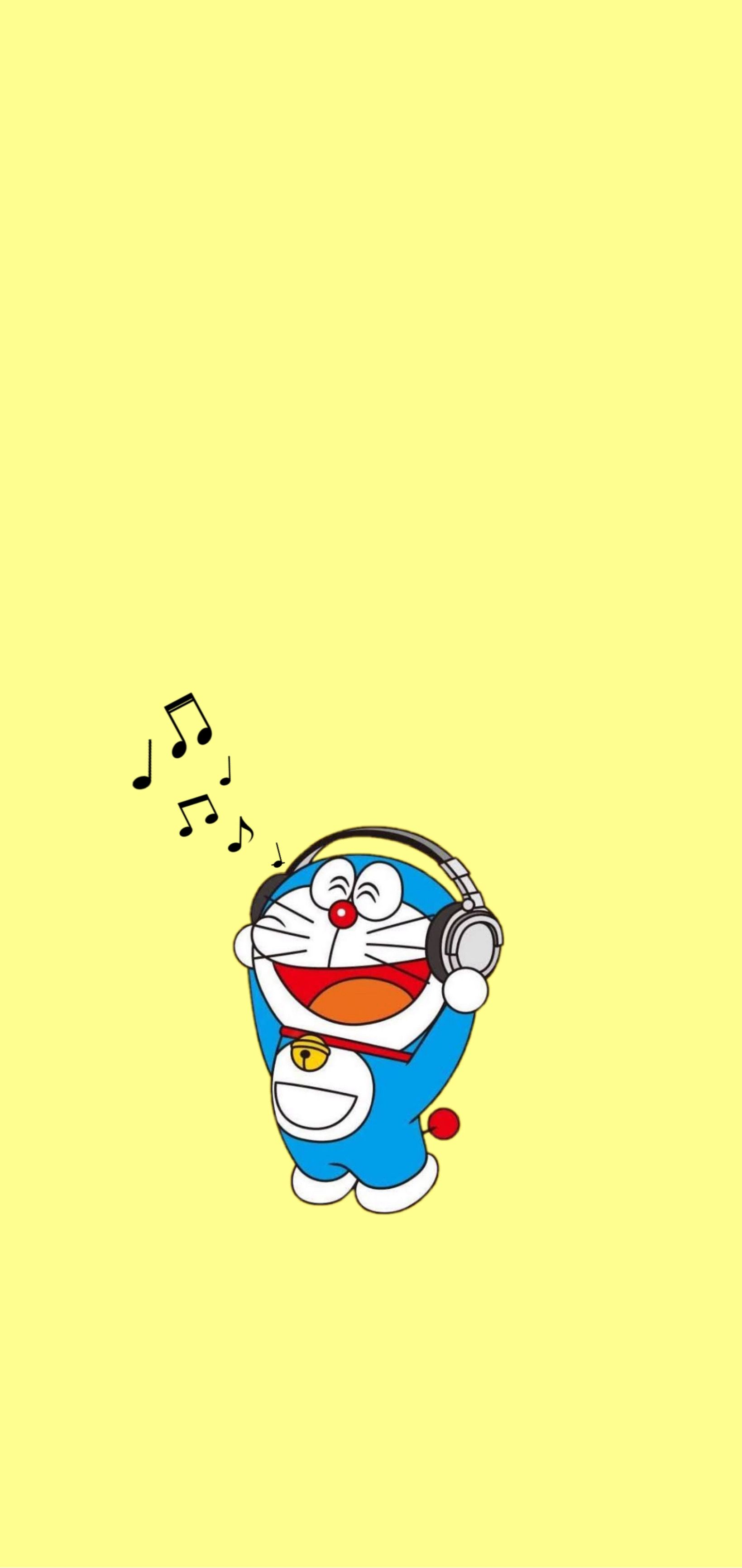 Doraemon Wallpaper Lockscreen Aesthetic Pastel Di 2020