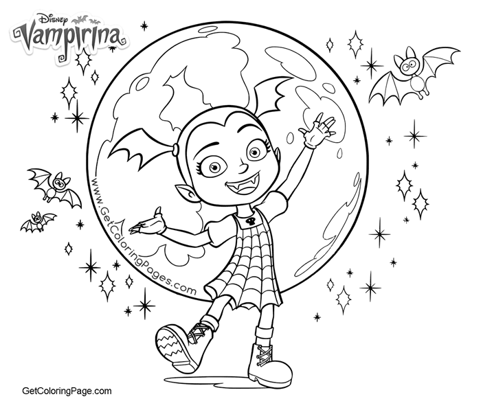 Vampirina Coloring Pages Get Coloring Page Coloring
