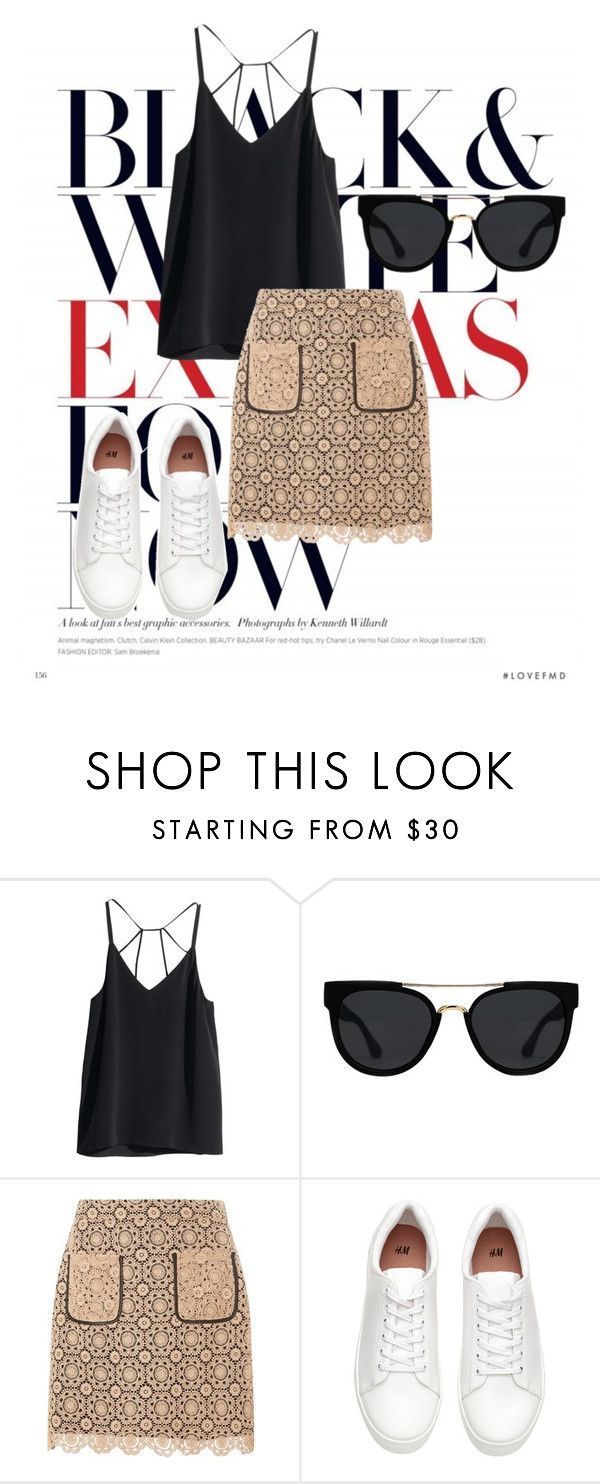 """""""Love Is the Name"""" by agnesegundega on Polyvore featuring H&M, Quay and Dorothy Perkins"""