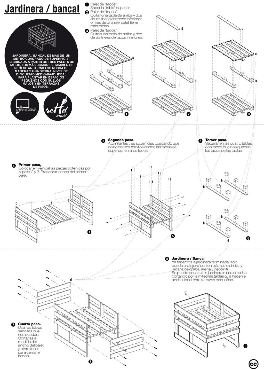 DIY raised garden bed with pallets | Pallet things | Pinterest ...