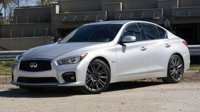 Infiniti Q50 Red Sport 400 priced at 48,855, AWD at 50,855