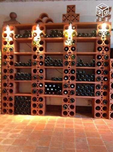 bouteille casier vin stockage du vin