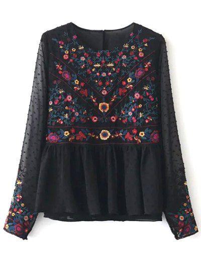 only blouse bloemen