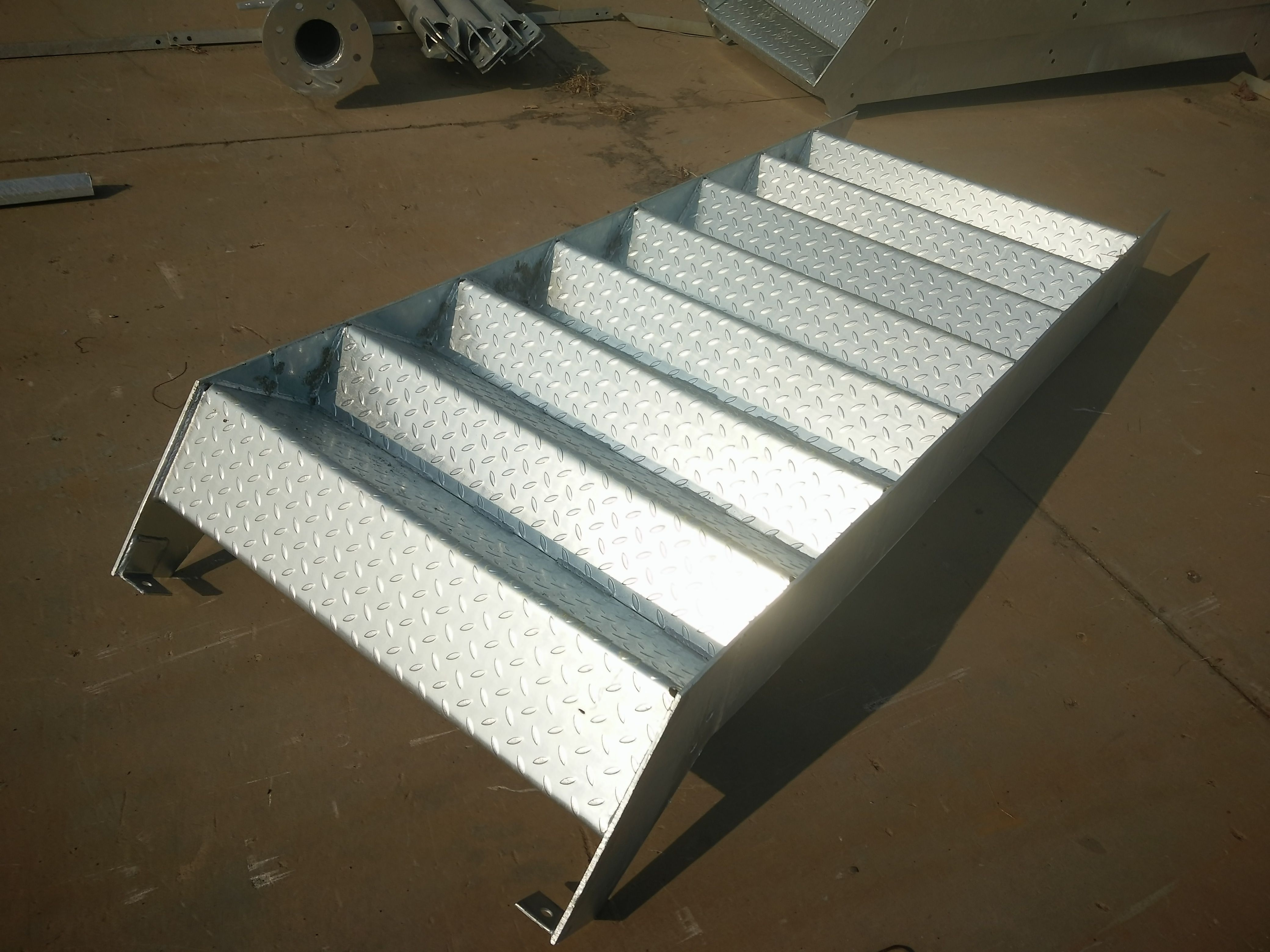 Best Stair Treads Handrails Steel Grating Steel Structure 400 x 300