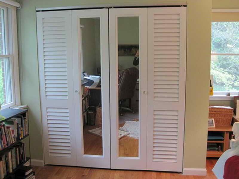 Bifold Doors Home Depot Bifold Door Sizes With Glass Material Mirror Closet Doors Mirrored Bifold Closet Doors Sliding Closet Doors