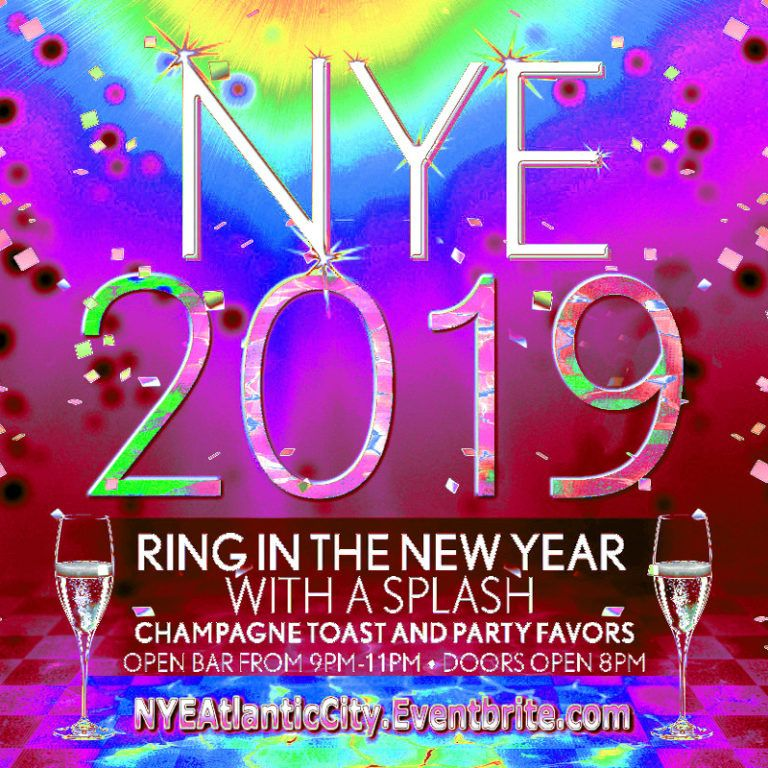Can't Miss! New Years Eve 2019 Tickets - NYE at The Pool AC - Harrahs, Atlantic City! (With ...