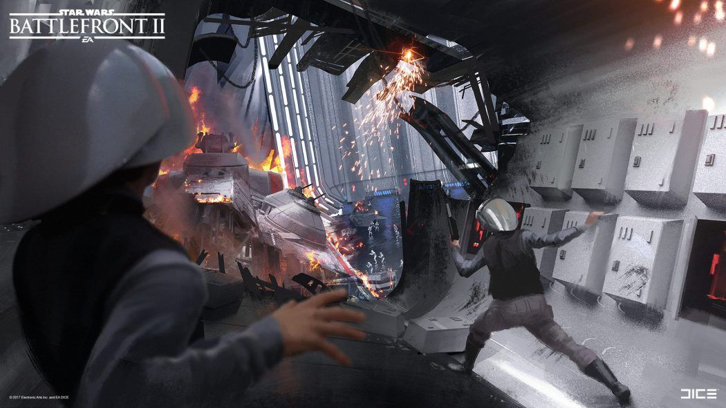 Star Wars Battlefront II Concept Art by Joseph McLamb | Concept Art World