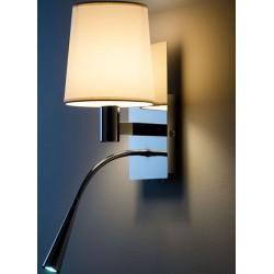 Photo of Vegglampe Asset hvit, designer Aluminor, 34x16x20 cm AluminorAluminor