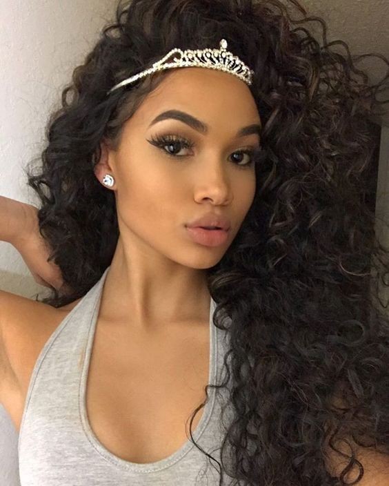 Pre Plucked 360 Lace Wigs Loose Curl 180 Density Indian