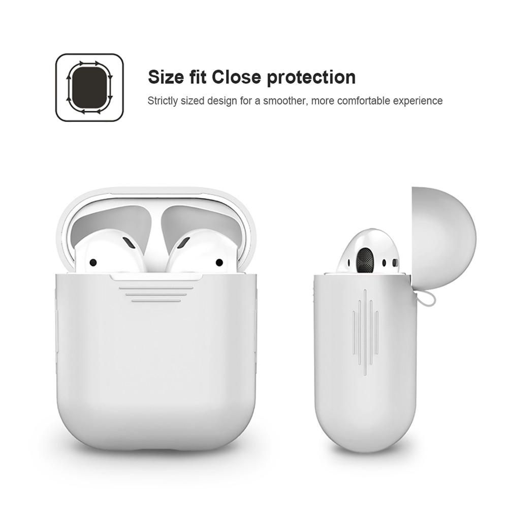 1pcs Tpu Silicone Bluetooth Wireless Earphone Case For Airpods Protective Cover Skin Accessories For Apple Airpods Charging Box In 2021 Earphone Case Airpods 2 Case Case Cover