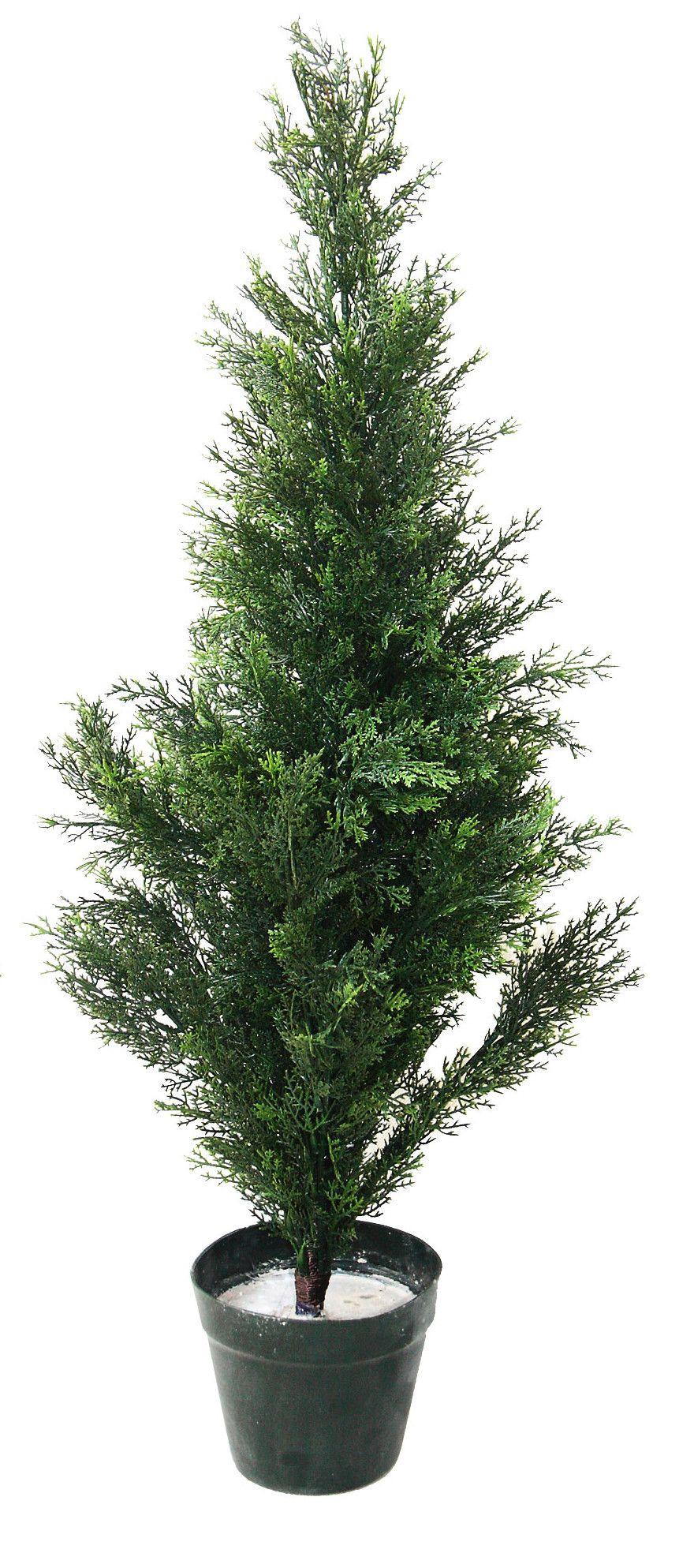 Faux Cedar Topiary