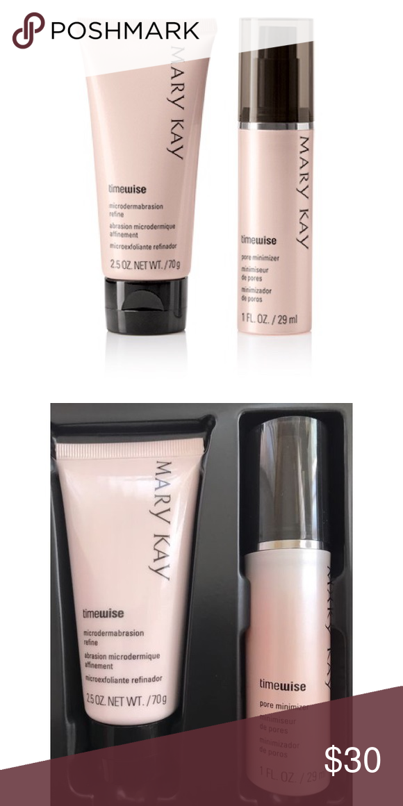 Nib Mary Kay Microdermabrasion Plus Set Nwt Microdermabrasion