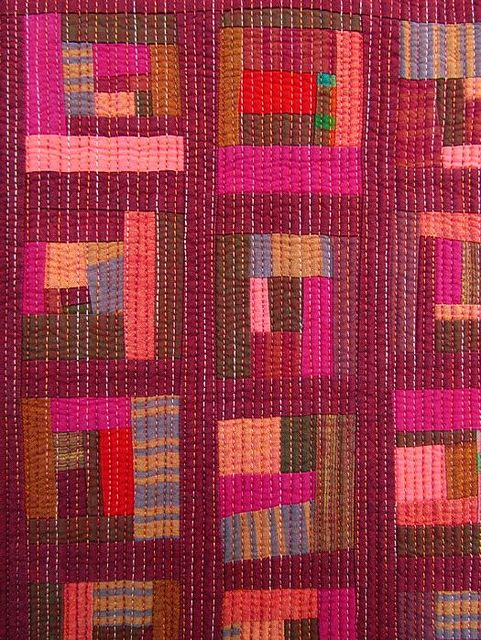 Mini Scrap Quilt - Detail | Flickr - Photo Sharing!