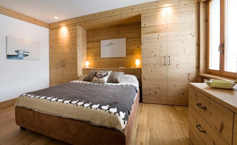 Come arredare una casa in montagna - Camera da letto in ...