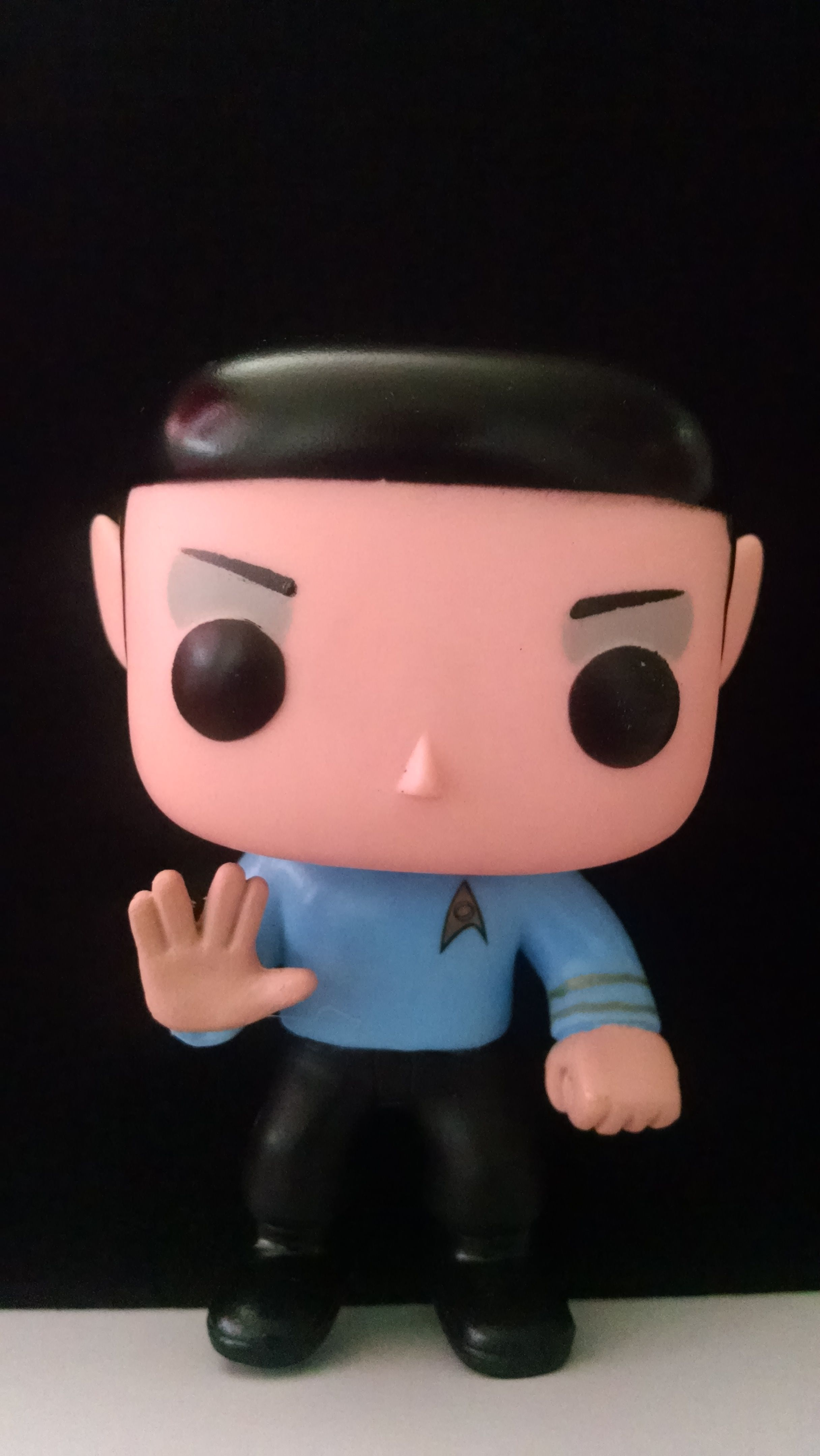 "SPOCK ""Live long and prosper."" USD$ 13.00    € 12.00    MEX$ 199.00"