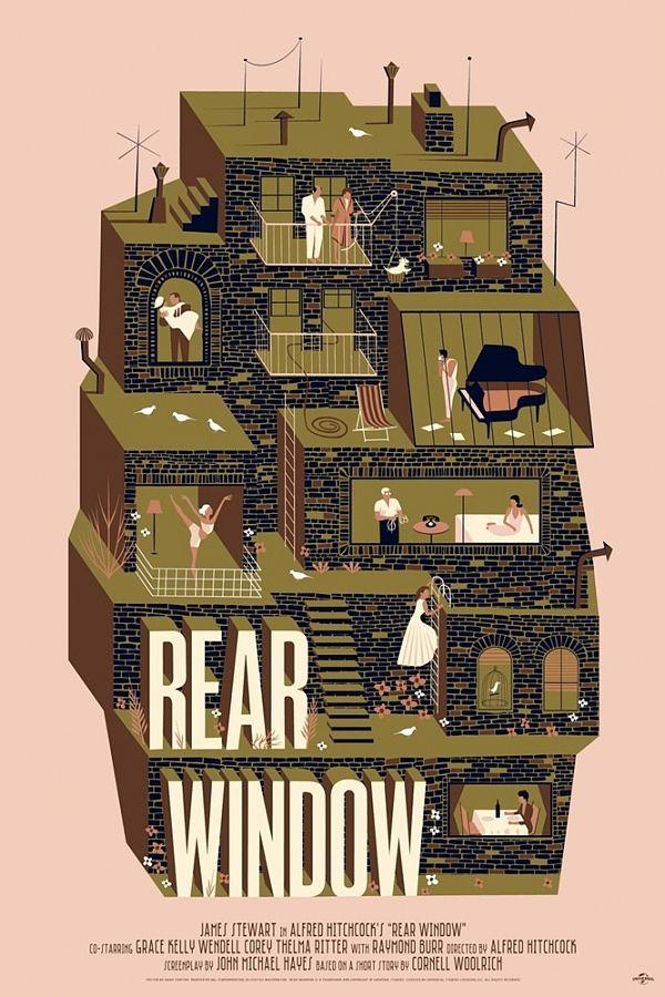 Rear Window   Illustrator: Adam Simpson