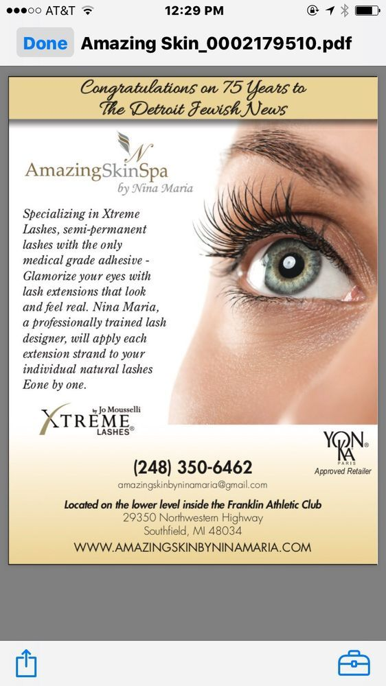 6eb9acc0d16 Homecoming Xtreme Lashes by Nina Maria for highschoolers only at 50% off  appointment today at 248-350-6462 .You must show a valid ID - Yelp