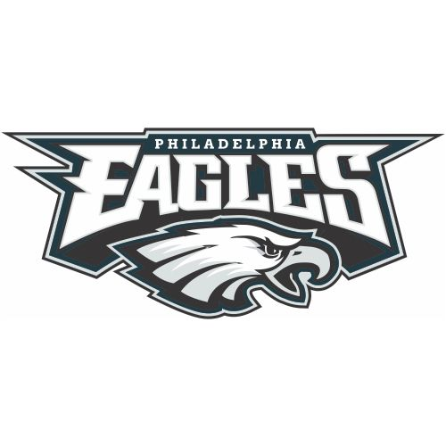 Custom or design philadelphia eagles logo iron on decals stickersheat transfers for your