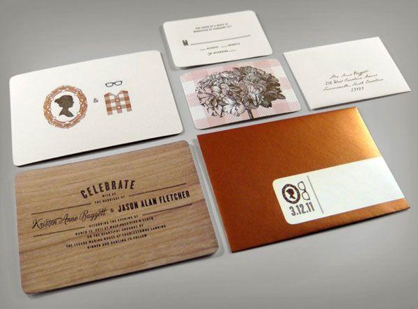 A Showcase Of Creative Wedding Invitations Creative