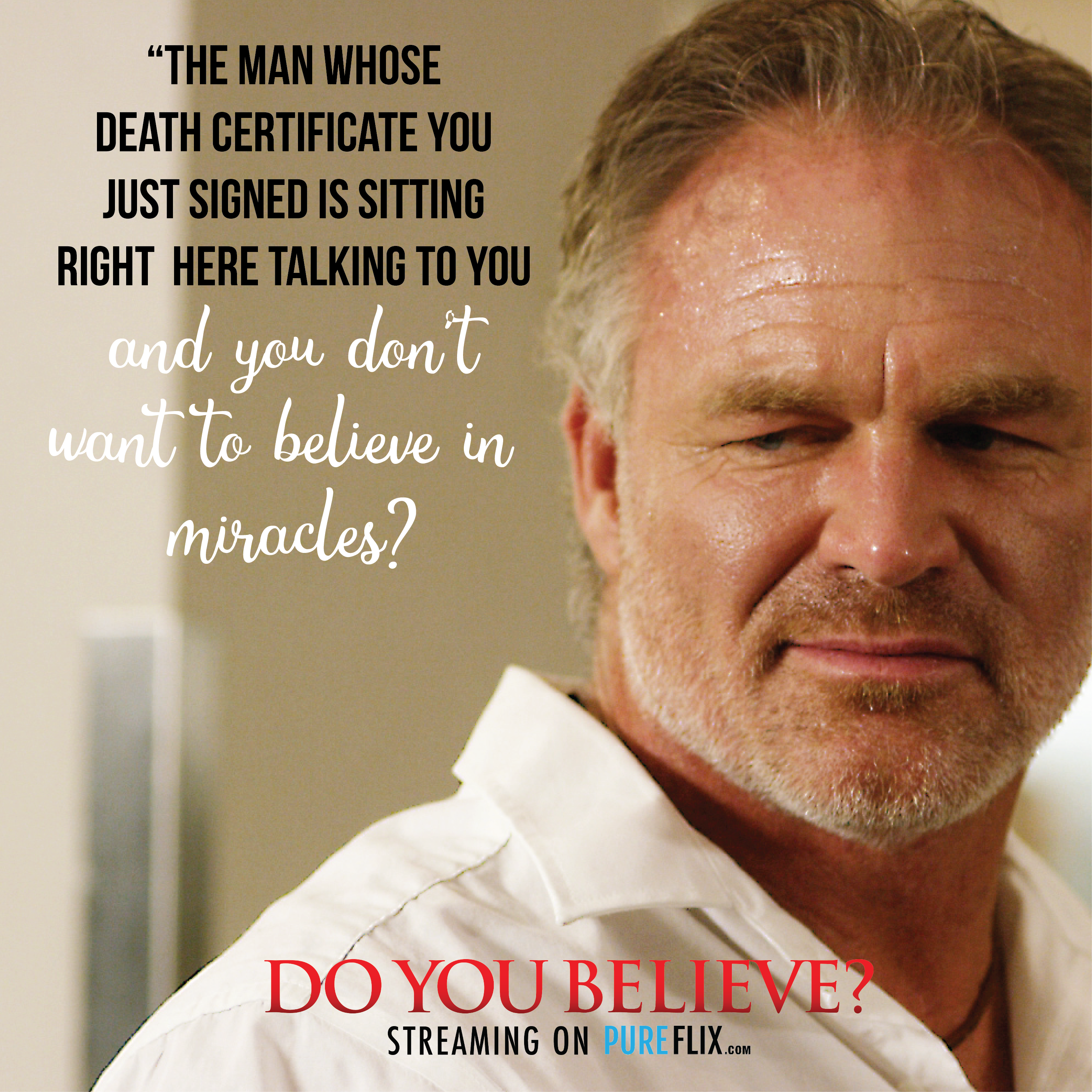 What Miracles Have You Seen In Your Life Doyoubelieve Christian Movies Quotes Christian Movies Speak Life