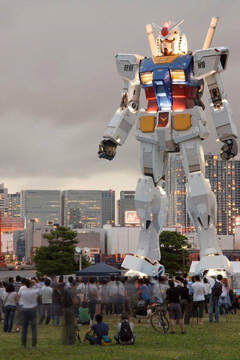 That life-size Gundam in Tokyo will be gone in March 2017.  But... #Anime #Manga #AnimeCruzers #AnimePill