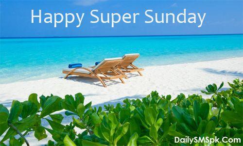 Happy Sunday Holiday Super