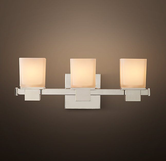 Bryant Triple Sconce | Lighting Projects | Pinterest | Master ...