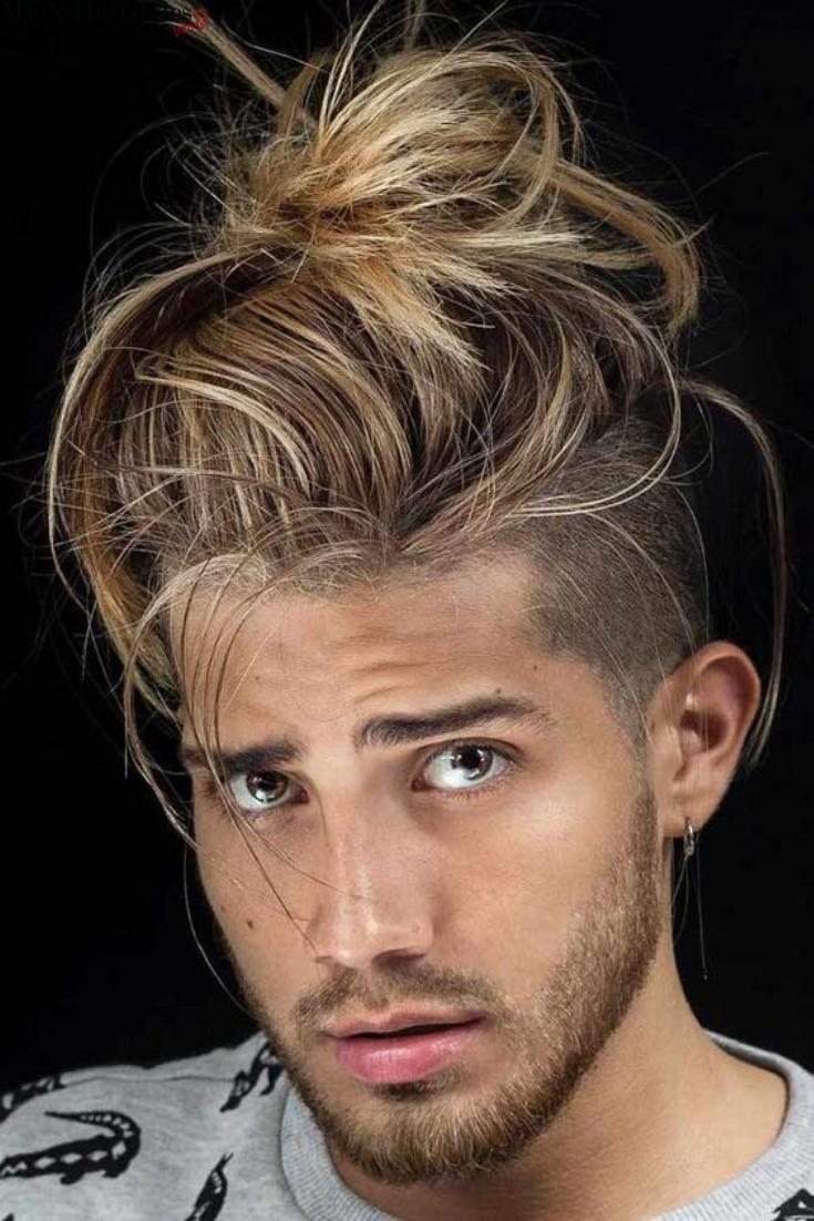 Nice 70 Beautiful Taper Fade Haircut Styles For Men Find Your Lifestyle Check More At Http Macho Taper Fade Haircut Long Hair Styles Men Man Bun Hairstyles