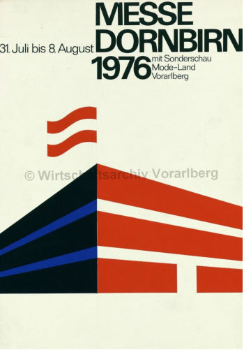 By Othmar Motter (Vorarlberger Graphik), 1976, Dornbirn exhibition.