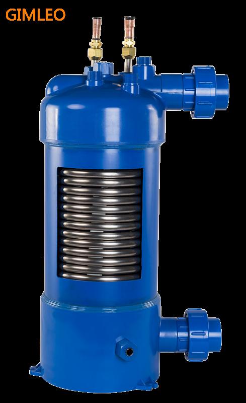 MHTA-3 titanium heat exchanger for swimming pool heat pump ...