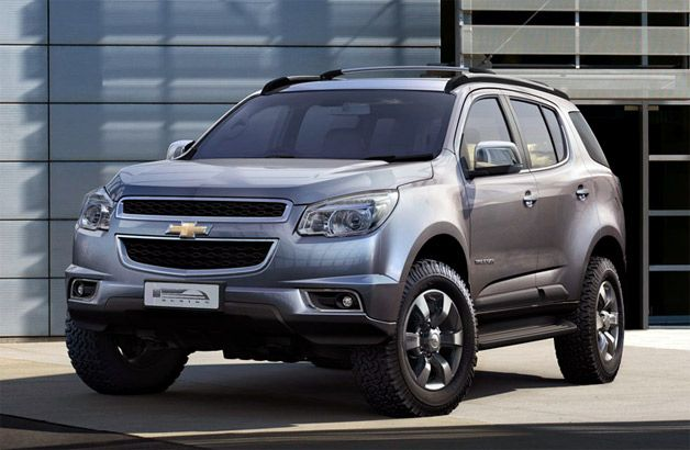 Chevy Trailblazer Headed For Us In 2014 Chevrolet Trailblazer Chevrolet Blazer Carros