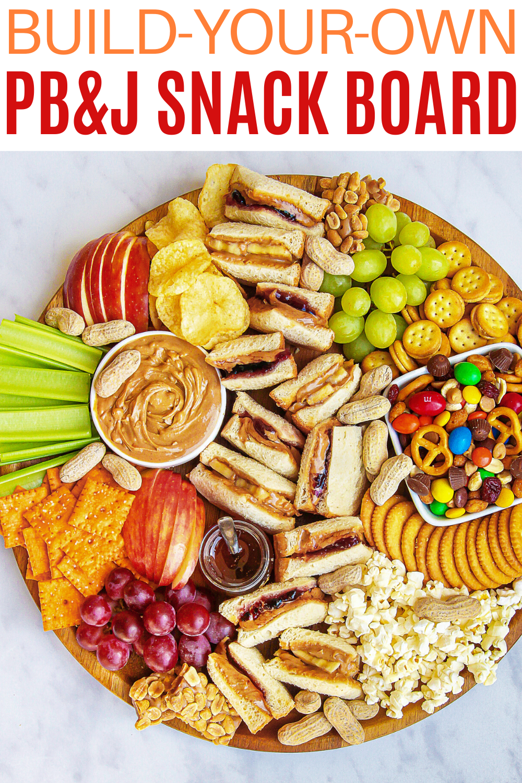 PB&J Snack Board