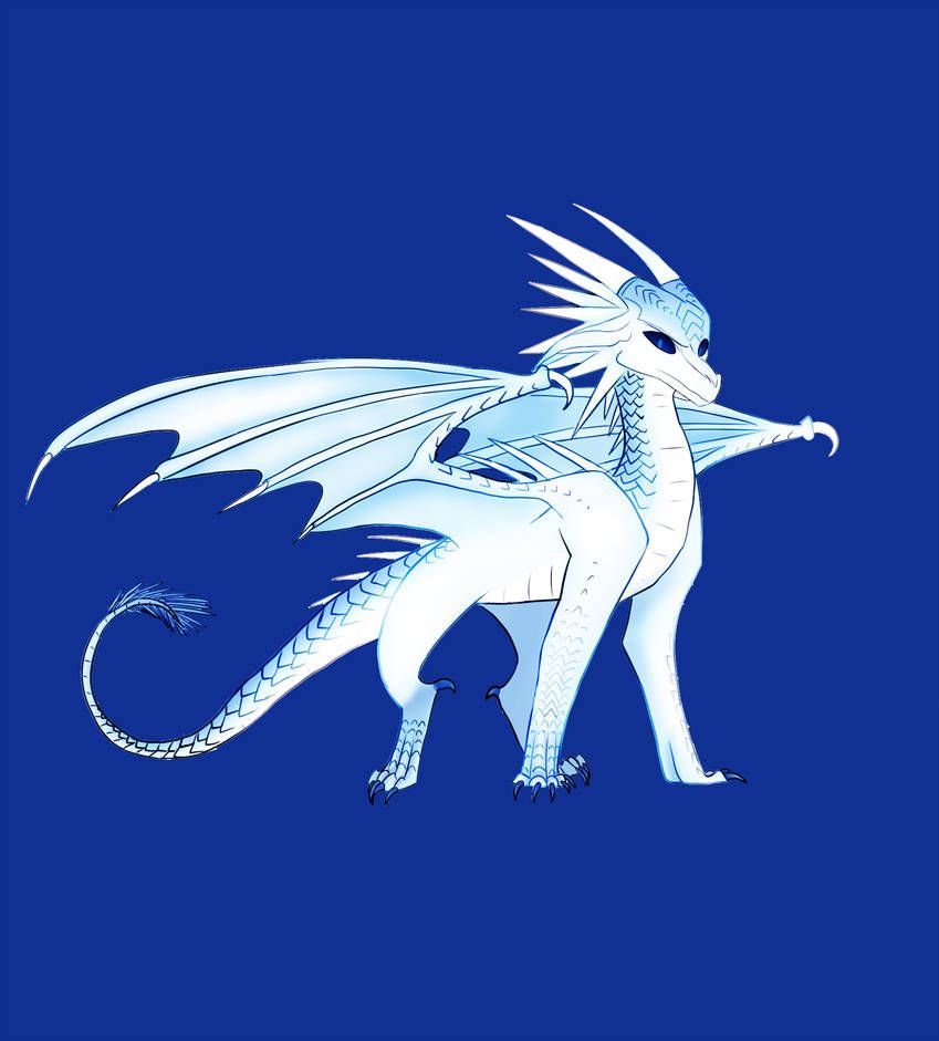 WoF Winter by Soulshade13 in 2019 | Wings of fire dragons