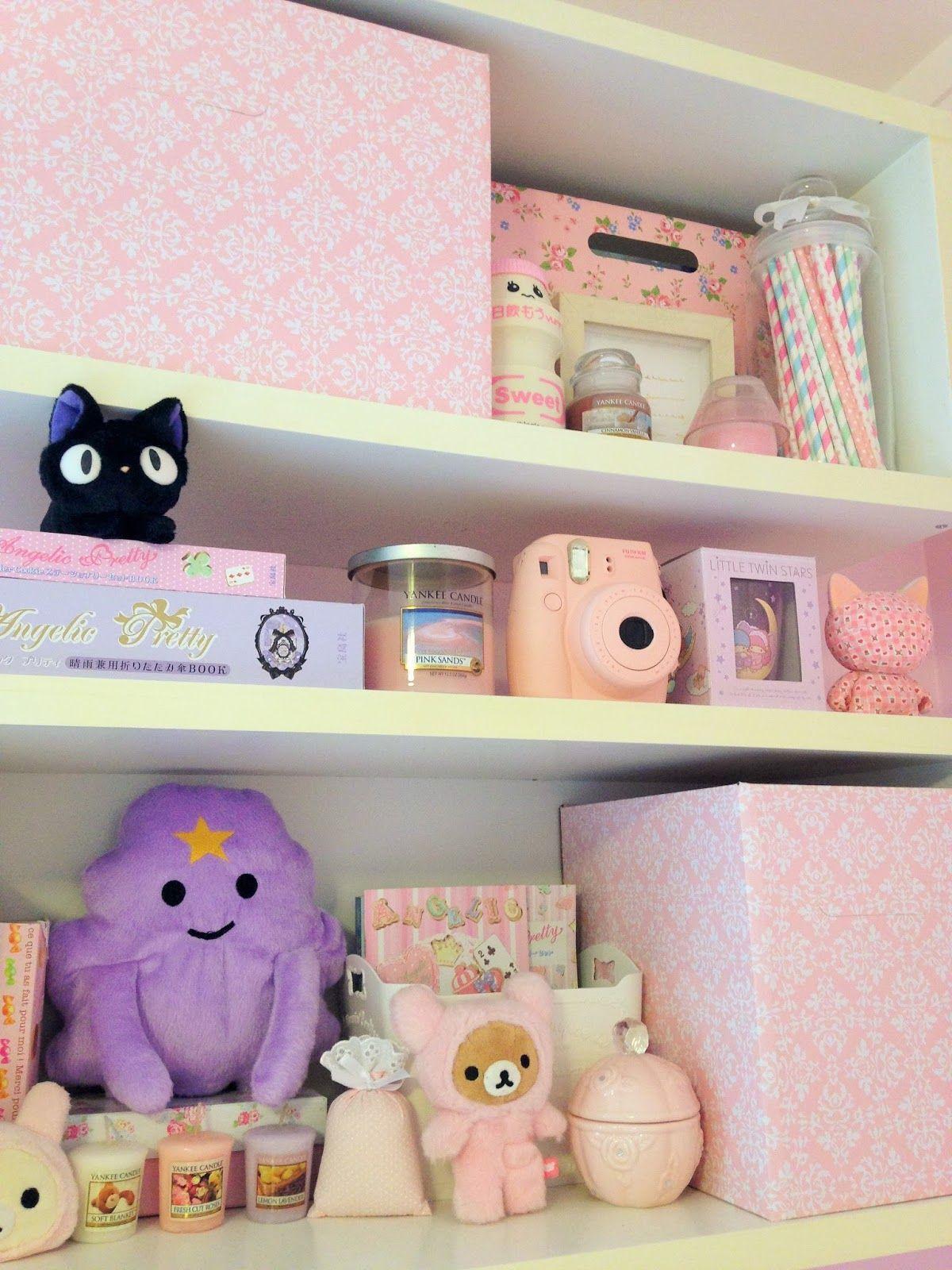 Kawaii Room Inspiration From Pasteljellybeans Blogspot Com
