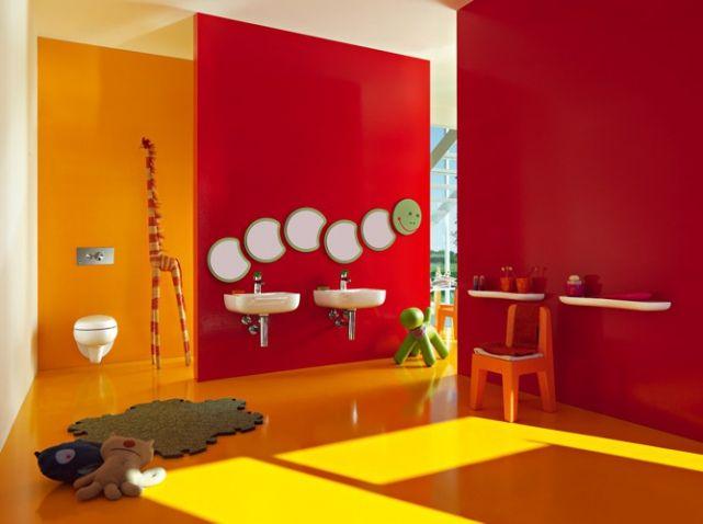 Adapter sa salle de bains aux enfants - salle de bains enfants