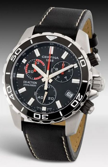 e35af0201 Brand Certina Model Certina DS Action Chronograph Indicative price € 380  Type Wristwatch
